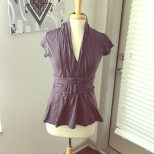 Tops - Purple Top with Awesome detail!